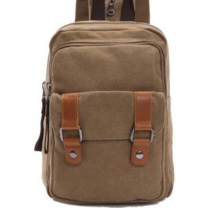 Other - Men Vintage Backpack Shoulder Bag Daypack